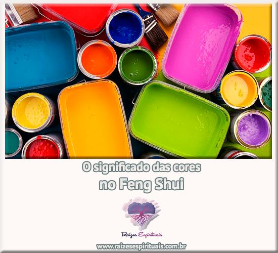 O significado das cores no Feng Shui