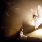 Anjos abençoam com amor