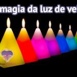 A magia da luz de vela