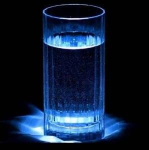 Copo de agua para simpatia