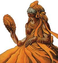Oxum, deusa da fertilidade, beleza e do casamento