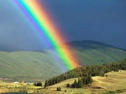 Arco-íris representa riqueza e fartura