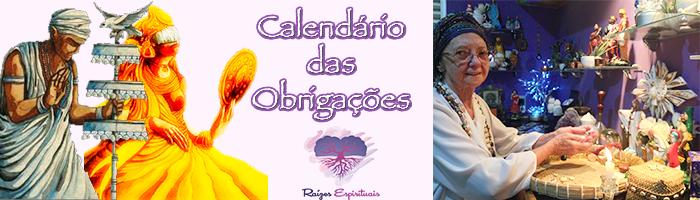 calendário de comemorações de mãe Makena