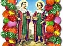 27 de setembro dia de Cosme e Damião