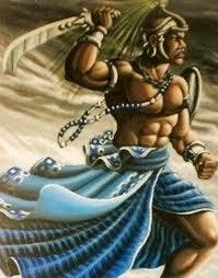 Ogun deus da metalurgia e tudo que está ligado ao ferro