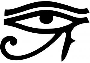 Olho de Hórus, até os egípcios se protegiam contra a força maléfica do olho gordo