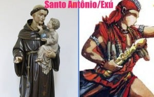 Dia 13 de junho comemorado dia de santo antonio/exú no candomblé
