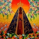 12 de outubro é o Dia de Nossa Senhora Aparecida padroeira do Brasil