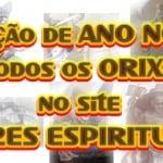 Oração de Ano Novo saudando todos os Orixás em 2012