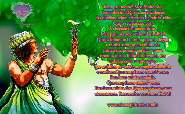 Oração a Ossaim na quinta-feira