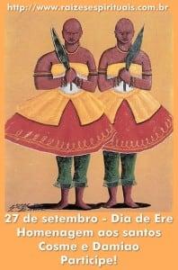 Dia de Cosme e Damião