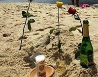 Virada de ano nas praias com homenagem a Iemanjá