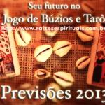 Seu futuro no Jogo de Búzios e Cartas do Tarô