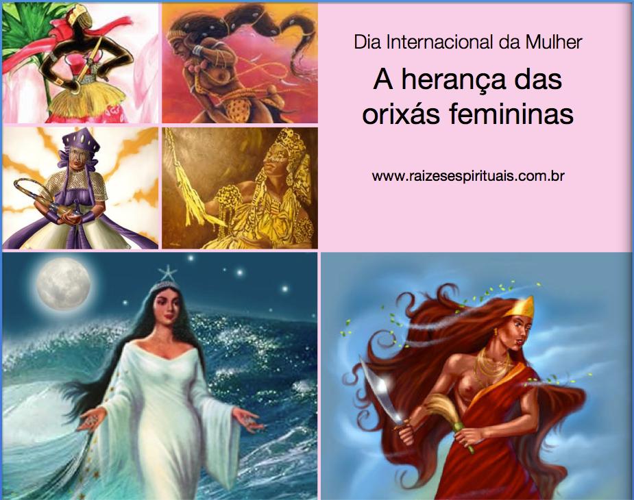 A herança das orixás femininas