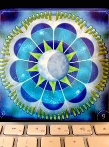 Tons de azul que buscam o equilíbrio e a paz