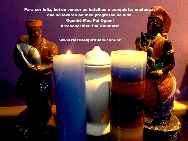 Terça-feira é dia de homenagear Ogum e Oxumaré na umbanda