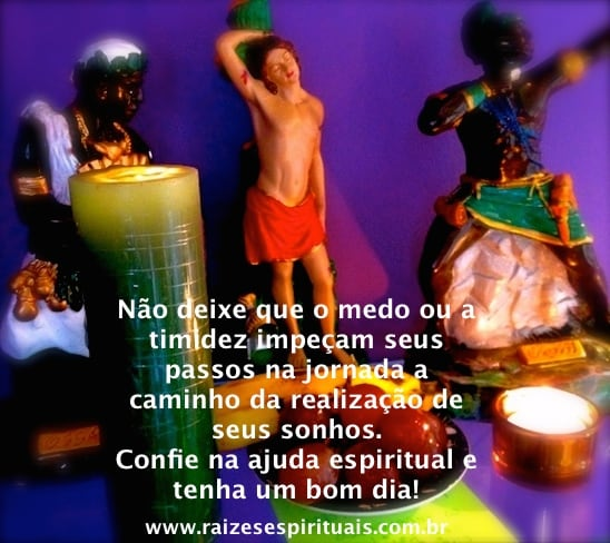 Quinta-feira é o dia consagrado a Oxóssi, Logunedé, Ossaim e aos Caboclos.