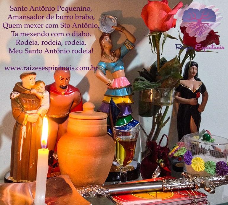 Segunda-feira é dia de homenagear Santo Antônio, sincretizado com Exú