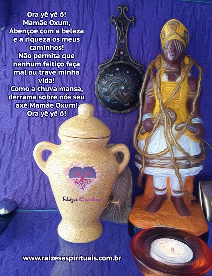 Sábado é dia de orar a Mamãe Oxum