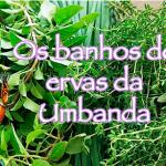 Os banhos de ervas da Umbanda