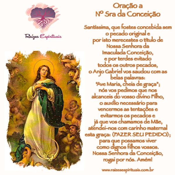 Sincretizada com Oxum na Umbanda homenagem dia 08 de dezembro a Nossa Senhora da Conceição