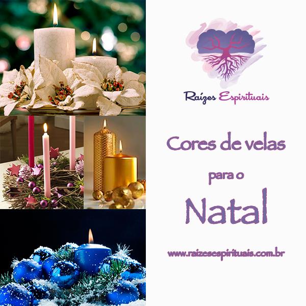 cores de velas para um ambiente encantador e mágico em seu natal