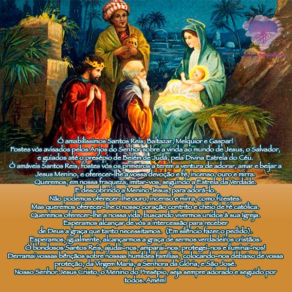 Dia 06 de janeiro é o Dia dos Santos Reis