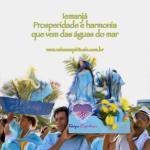 Iemanjá – Prosperidade e harmonia que vem das águas do mar