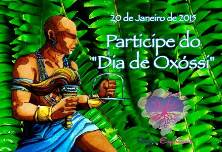 Homenagem a Oxóssi e a Linha de Caboclos dia 20 de janeiro