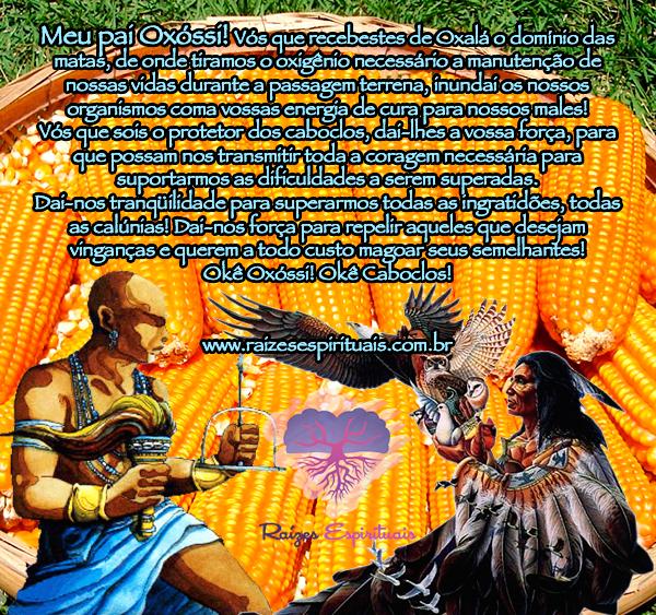 Oração a Oxóssi e aos Caboclos