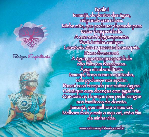 Oriki (reza) para Iemanjá no dia 02 de fevereiro