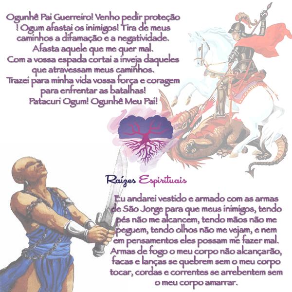 Terça-feira é dia de orar a Ogum, sincretizado com São Jorge