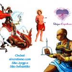 Sincretismo de Oxóssi com São Jorge e São Sebastião