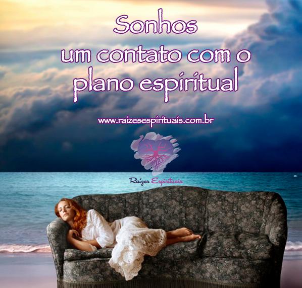 Sonhos - um contato com o plano espiritual
