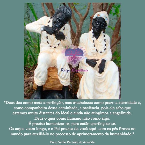 Comemoração da Semana dos Pretos Velhos