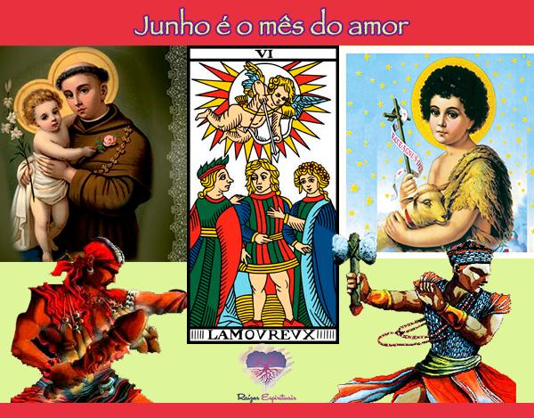 Homenagens a Santo Antônio (Exú) e São João e São Pedro (Xangô)