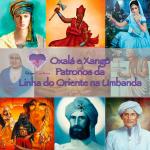 Oxalá e Xangô – Patronos da Linha do Oriente na Umbanda