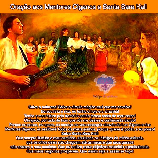 Oração aos Mentores Ciganos e Santa Sara Kali homenageados em 24 de maio