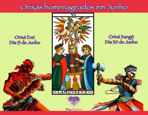 Exú e Xangô são os homenageados do mês de Junho