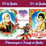 Homenagem a Xangô em Junho