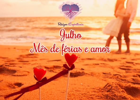 Promoção especial para trabalhos espirituais para o amor em Julho