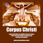 Oração do Dia de Corpus Christi