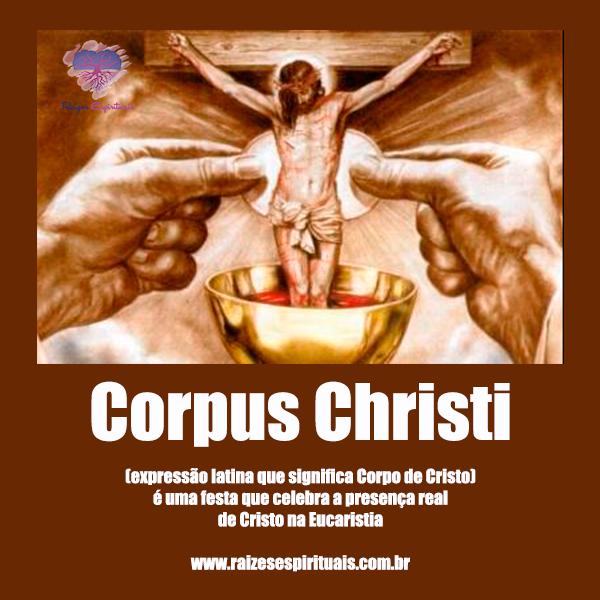 A festa da presença do Cristo