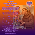 Oração de Amarração de Amor a Santo Antônio