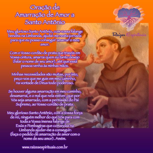 Oração de amarração de amor a Santo Antônio para 13 de junho, dia de homenagem ao santo católico