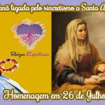 Sant'Ana, avó de Jesus, ligada pelo sincretismo a Nanã