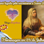Sant'Ana, ligada pelo sincretismo religioso a orixá Nanã
