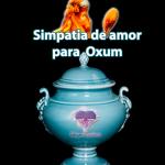 Simpatia de amor para Oxum