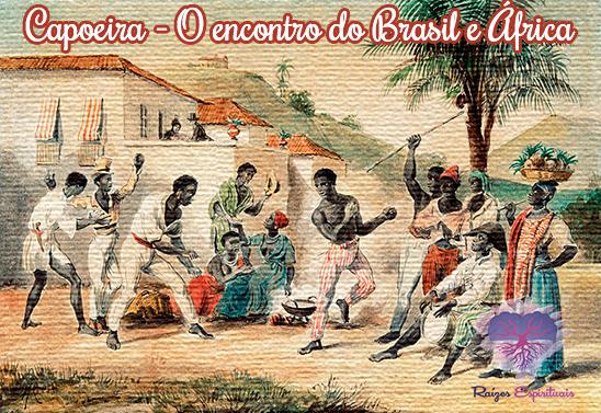 Capoeira, mistura de luta dança e música, jóia da cultura africana no Brasil