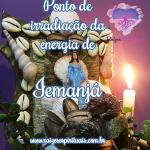 Ponto de irradiação da energia de Iemanjá (com oração)